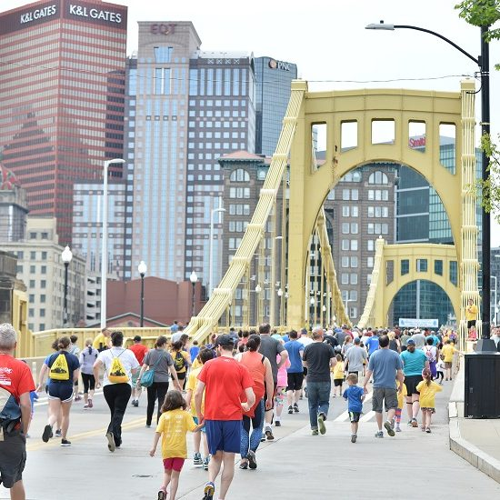 Image of walkers in Pittsburgh